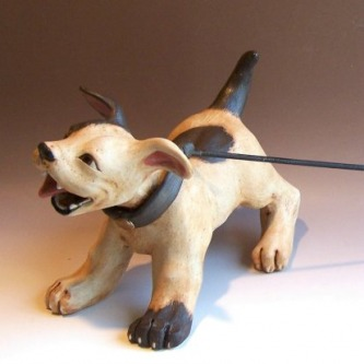 How To Make A Clay Dog Sculpture